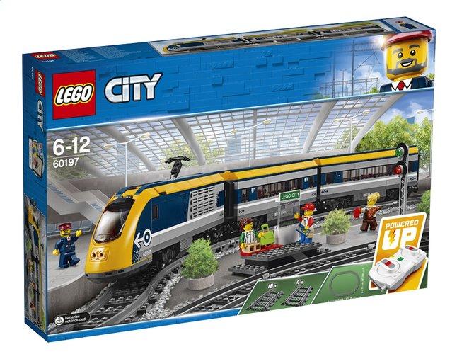 LEGO City 60197 Le train de passagers télécommandé