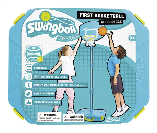 Image pour Mookie Swingball First Basketball à partir de DreamLand
