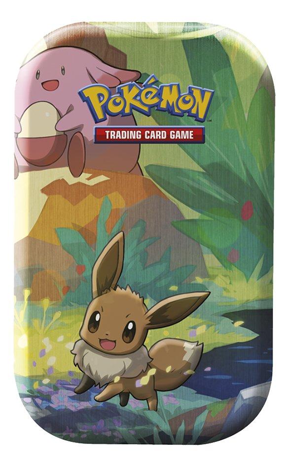 Image pour Pokémon JCC Trading Cards boîte Kanto Friends Empty Mini Tin - Evoli à partir de DreamLand
