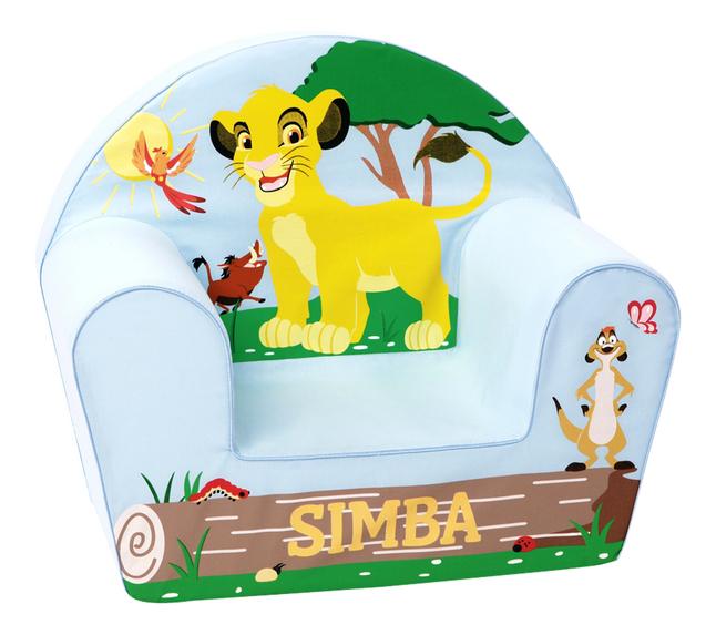 Fauteuil pour enfant Disney Le Roi Lion Simba