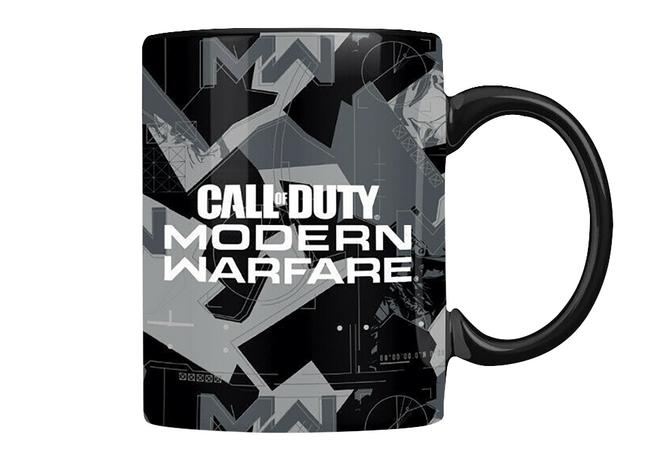 Mok Call of Duty Modern Warfare Metal Badge Coffee Mug