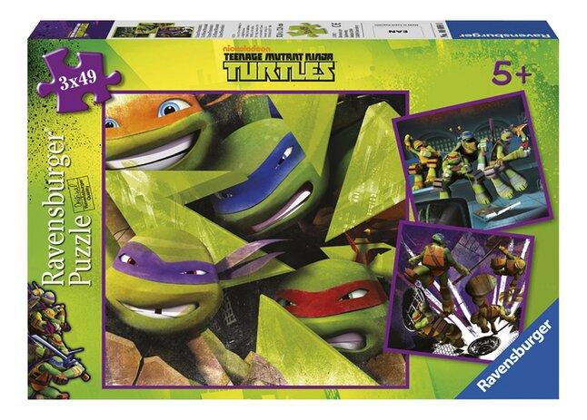 Afbeelding van Ravensburger puzzel 3-in-1 Teenage Mutant Ninja Turtles from DreamLand
