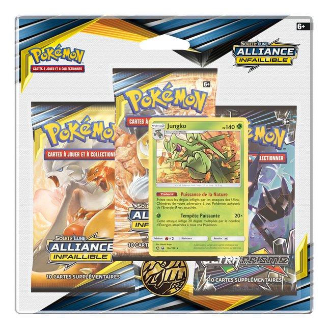 Image pour Pokémon JCC Trading Cards Soleil & Lune 10 - 3 Pack Blister Jungko à partir de DreamLand