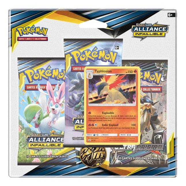 Image pour Pokémon JCC Trading Cards Soleil & Lune 10 - 3 Pack Blister Typhlosion à partir de DreamLand