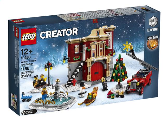 Afbeelding van LEGO Creator Expert 10263 Brandweerkazerne in winterdorp from DreamLand