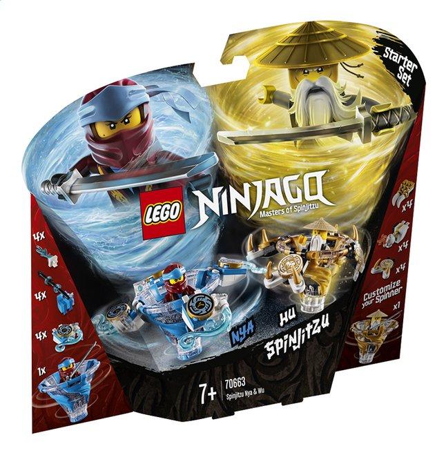 Afbeelding van LEGO Ninjago 70663 Spinjitzu Nya & Wu from DreamLand