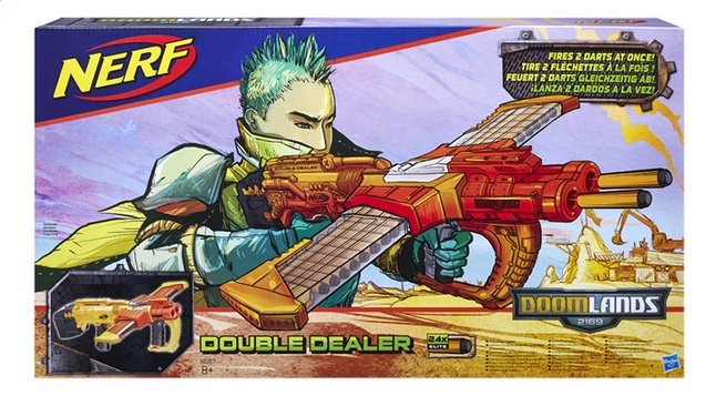Afbeelding van Nerf blaster Doomlands 2169 Double Dealer from DreamLand
