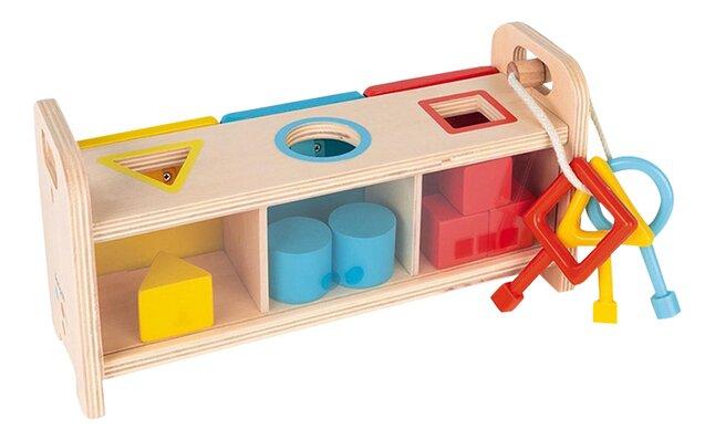 Janod trieur de formes La boîte à clefs