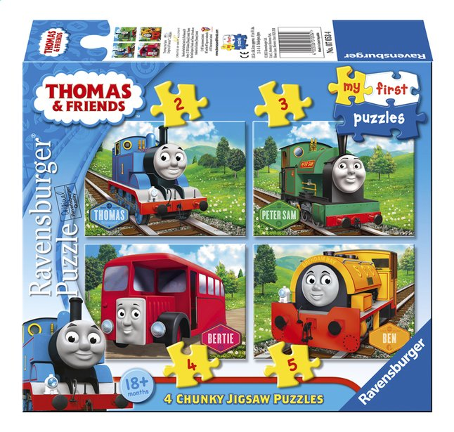 Afbeelding van Ravensburger meegroeipuzzel 4-in-1 Thomas & Friends from DreamLand