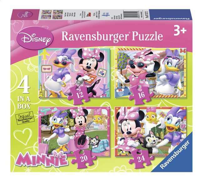 Afbeelding van Ravensburger meegroeipuzzel 4-in-1 Minnie Mouse from DreamLand