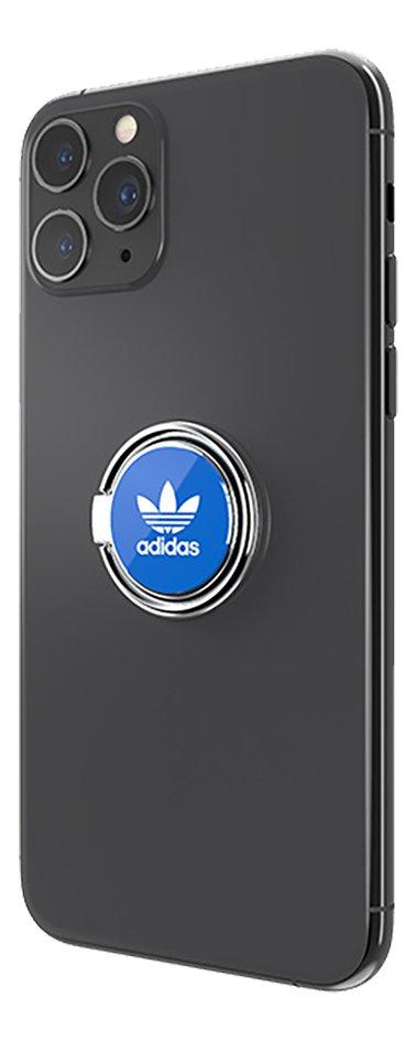 adidas Originals universele ring voor smartphone blauw/wit