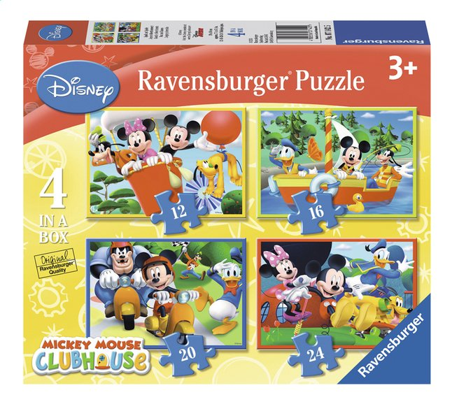 Afbeelding van Ravensburger meegroeipuzzel 4-in-1 Mickey Mouse from DreamLand