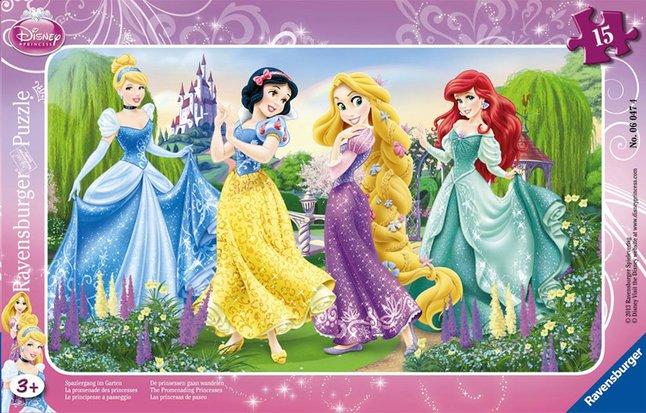 Afbeelding van Ravensburger puzzel De prinsessen gaan wandelen from DreamLand