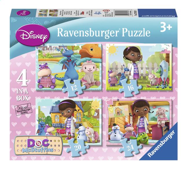 Afbeelding van Ravensburger meegroeipuzzel 4-in-1 Doc McStuffins from DreamLand
