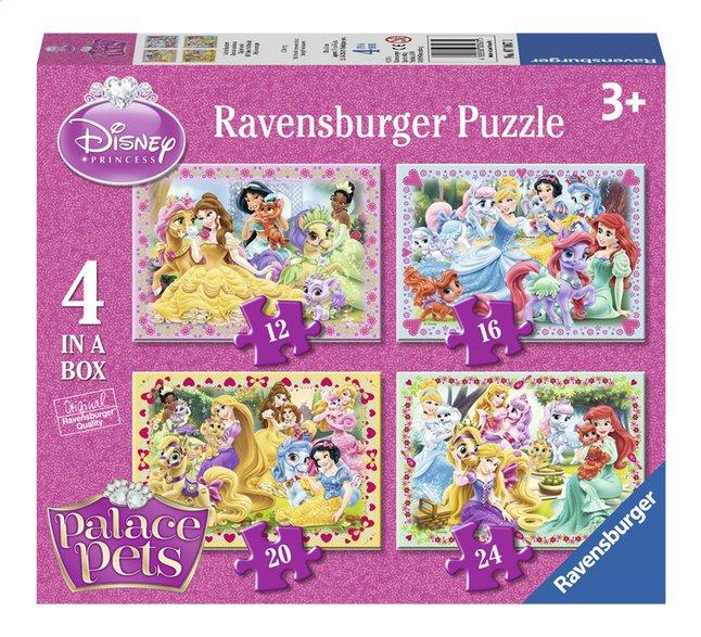 Image pour Ravensburger puzzle évolutif 4 en 1 Disney Princess Palace Pets à partir de DreamLand