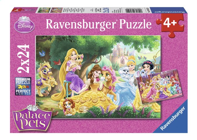 Afbeelding van Ravensburger puzzel 2-in-1 Disney Princess Palace Pets from DreamLand