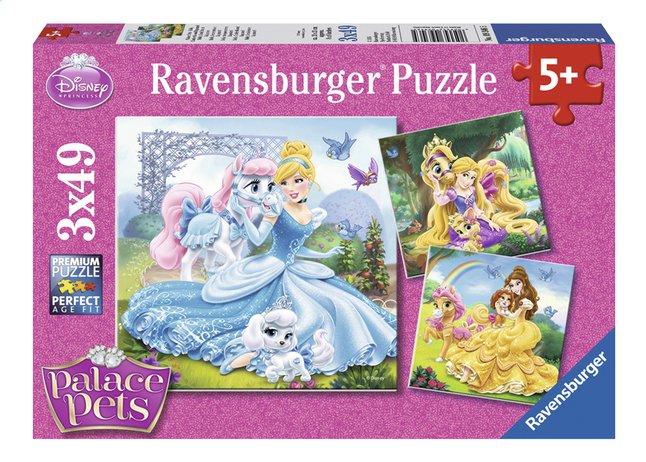 Image pour Ravensburger puzzle 3 en 1 Disney Princess Belle, Cendrillon et Raiponce à partir de DreamLand