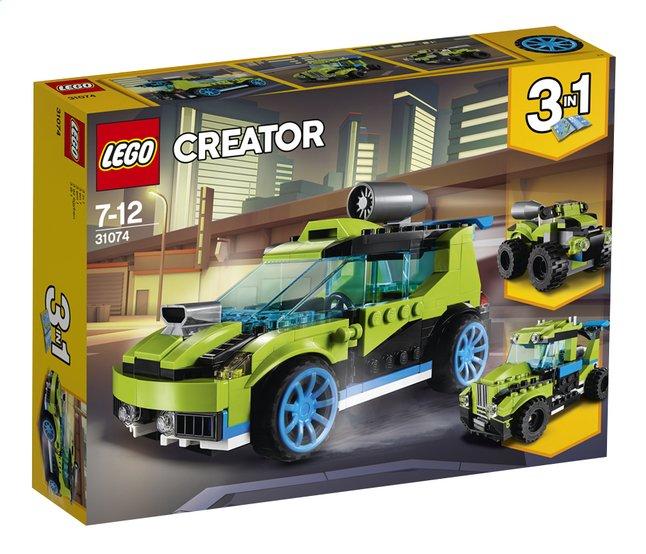 lego creator 3 en 1 31074 la voiture de rallye dreamland. Black Bedroom Furniture Sets. Home Design Ideas