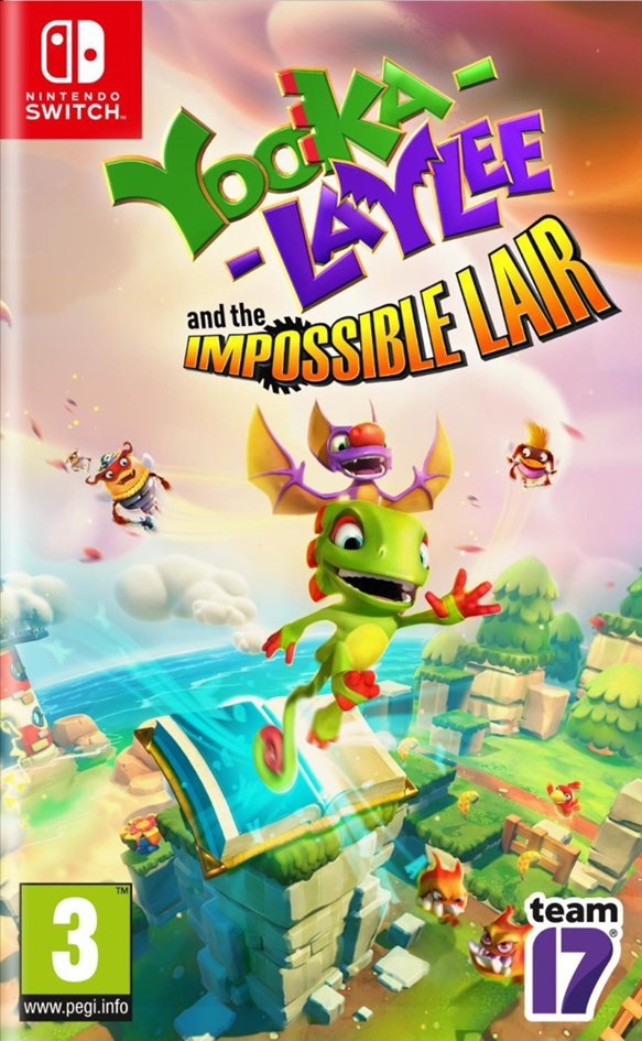 Nintendo Switch Yooka-Laylee & The Impossible Lair FR/ANG