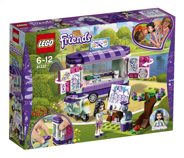 Afbeelding van LEGO Friends 41332 Emma's kunstkraam from DreamLand