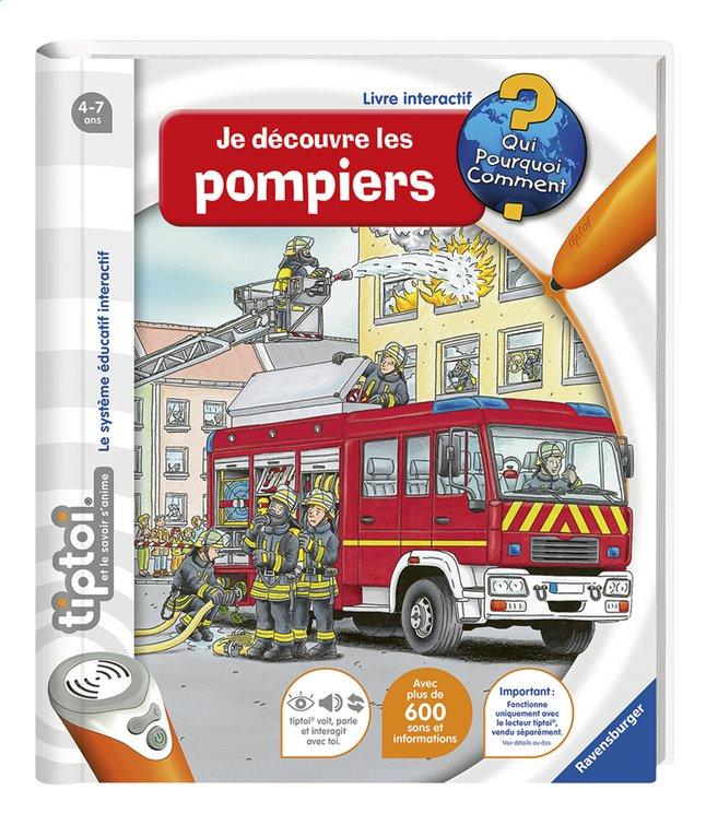 Ravensburger Tiptoi Je Decouvre Les Pompiers