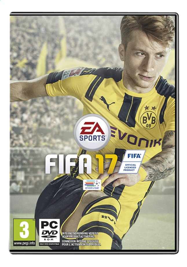 Afbeelding van PC Fifa 17 NL/FR from DreamLand