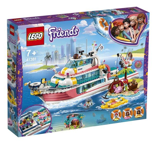 LEGO Friends 41381 Le bateau de sauvetage
