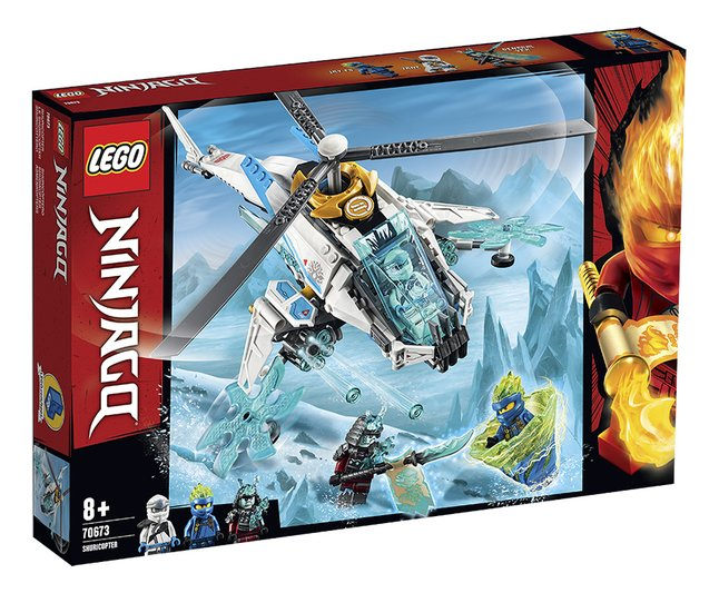 Afbeelding van LEGO Ninjago 70673 ShuriCopter from DreamLand
