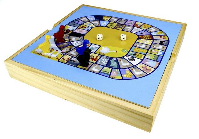 Afbeelding van Speelset 2-in-1 paardjesspel & ganzenbord from DreamLand