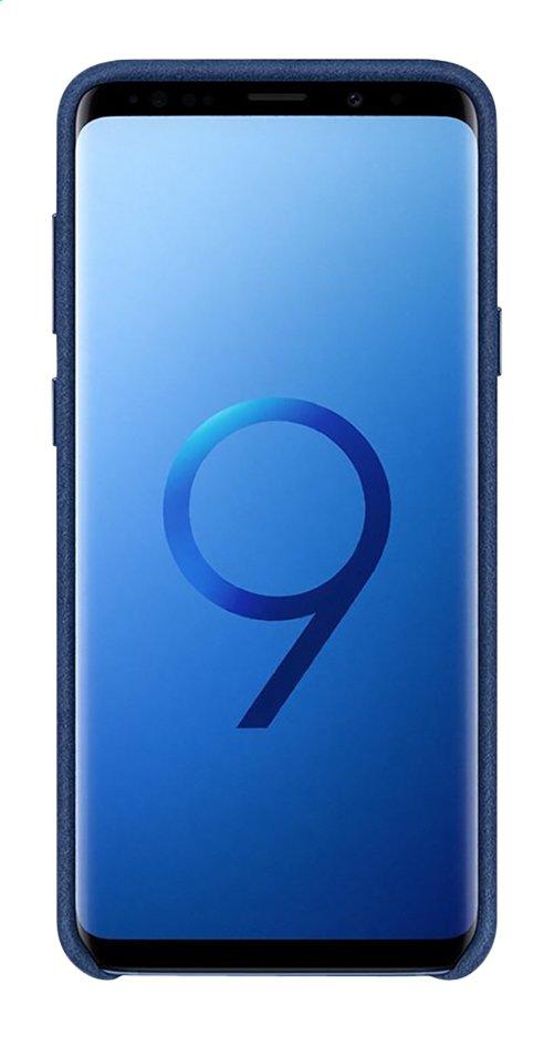 Image pour Samsung coque Alcantara Samsung Galaxy S9+ bleu à partir de DreamLand