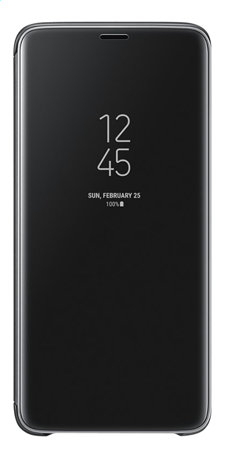 Afbeelding van Samsung Foliocover Clear view stand Galaxy S9+ zwart from DreamLand