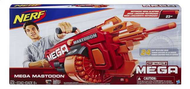 nerf fusil mega n strike mega mastodon dreamland. Black Bedroom Furniture Sets. Home Design Ideas