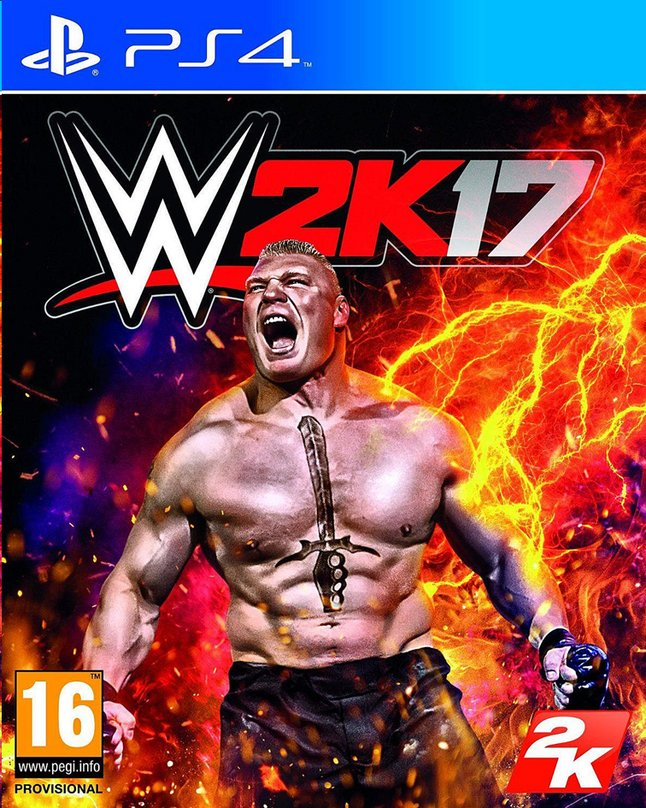 Afbeelding van PS4 WWE 2K17 ENG/FR from DreamLand