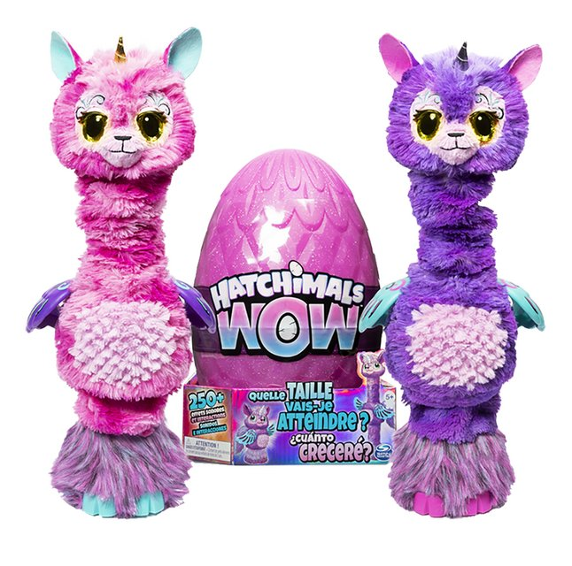 Hatchimals peluche interactive HatchiWow