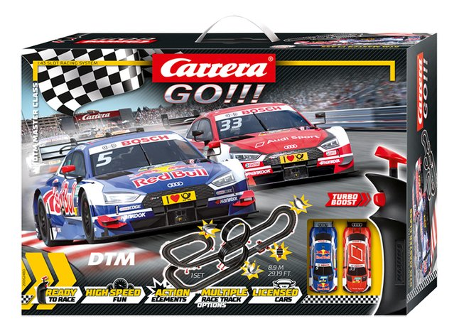 Carrera Go! racebaan DTM Master Class
