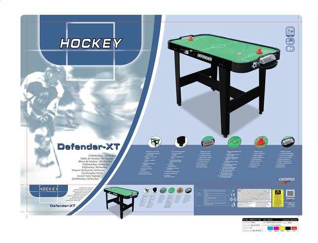 Image pour Table de air Hockey Defender-XT à partir de DreamLand