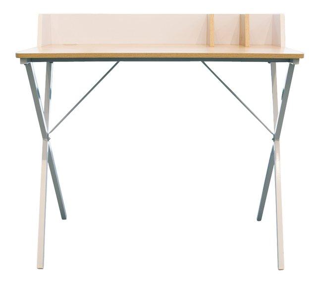 Image pour Bureau Basic blanc et bois à partir de DreamLand