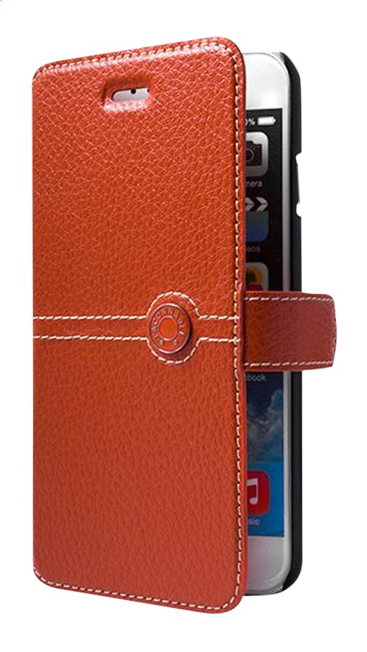 Afbeelding van bigben foliocover Façonnable voor iPhone 6/6s oranje from DreamLand