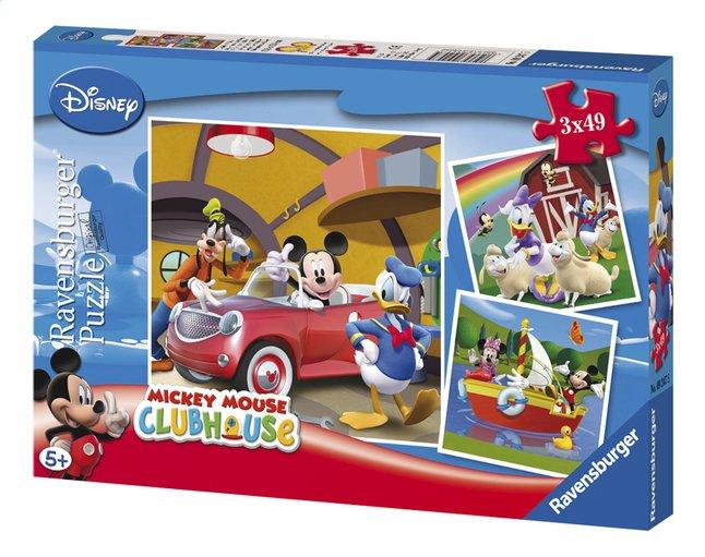 Image pour Ravensburger puzzle 3 en 1 Tout le monde aime Mickey à partir de DreamLand