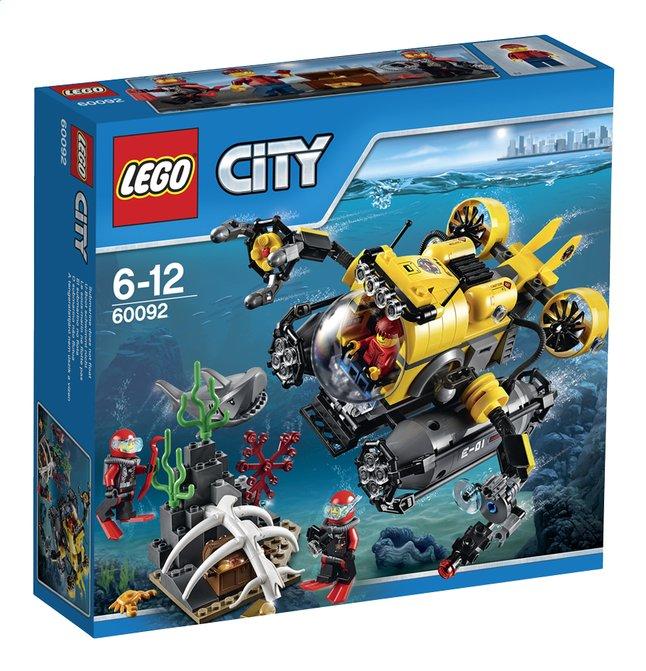 Afbeelding van LEGO City 60092 Diepzee Duikboot from DreamLand