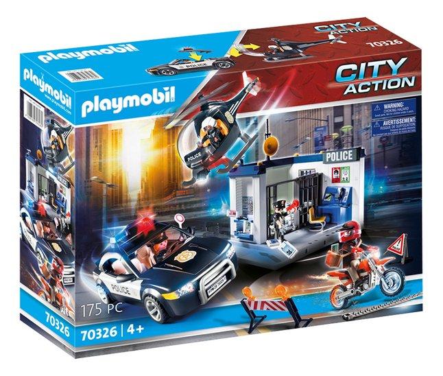 Playmobil City Action 70326 Bureau De Police Avec Voiture Super Deals Et Nouveautes Au Quotidien Chez Dreamland