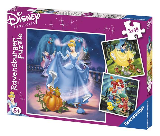 Afbeelding van Ravensburger 3-in-1 puzzel Prinsessen from DreamLand