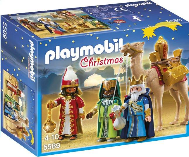 Afbeelding van Playmobil Christmas 5589 3 koningen met cadeaus from DreamLand