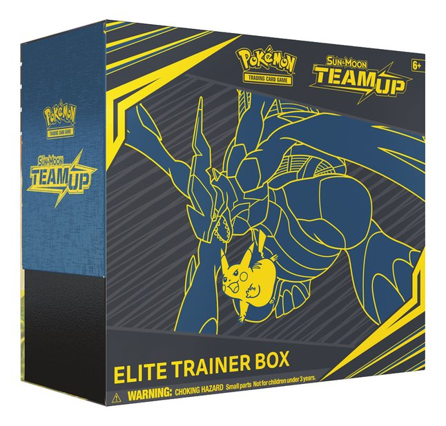 Pokémon Trading Cards Sun & Moon 9 Elite Trainer Box ANG