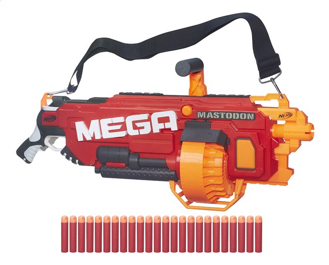 Afbeelding van Nerf blaster Mega N-Strike Mega Mastodon from DreamLand