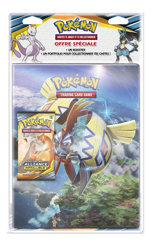 Image pour Pokémon JCC Trading Cards Soleil & Lune Alliance Infaillible Portfolio + booster - Tokorico à partir de DreamLand