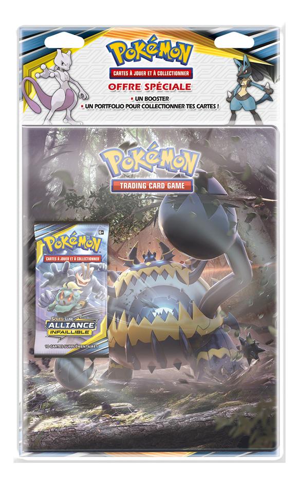 Image pour Pokémon JCC Trading Cards Soleil & Lune Alliance Infaillible Portfolio + booster - Engloutyran à partir de DreamLand
