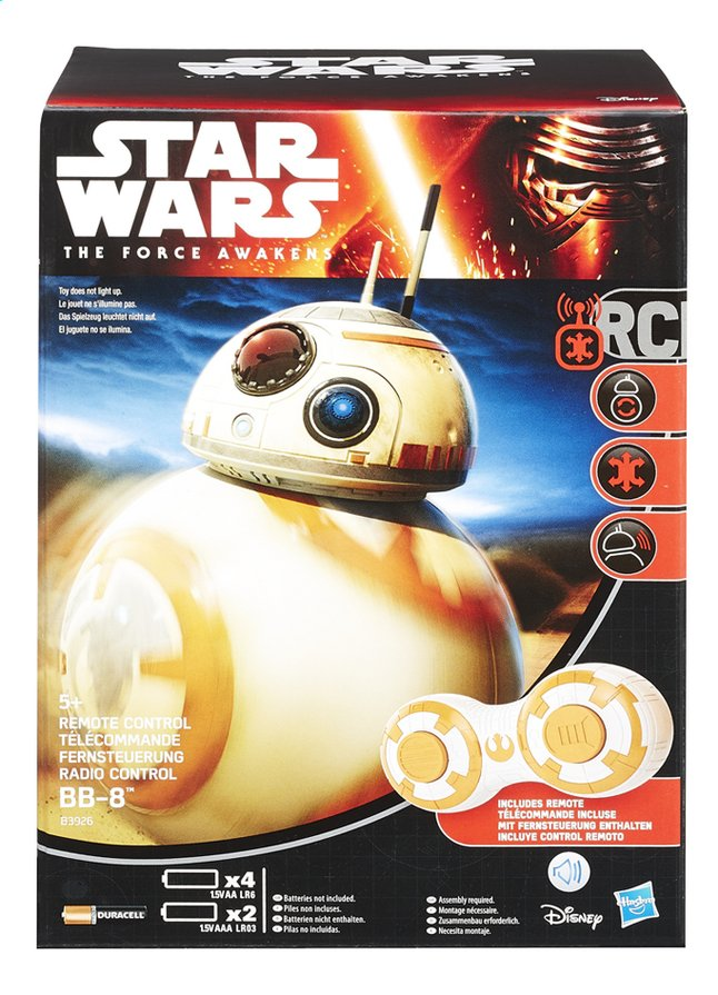 Afbeelding van Hasbro RC-robot Star Wars droid BB-8 from DreamLand