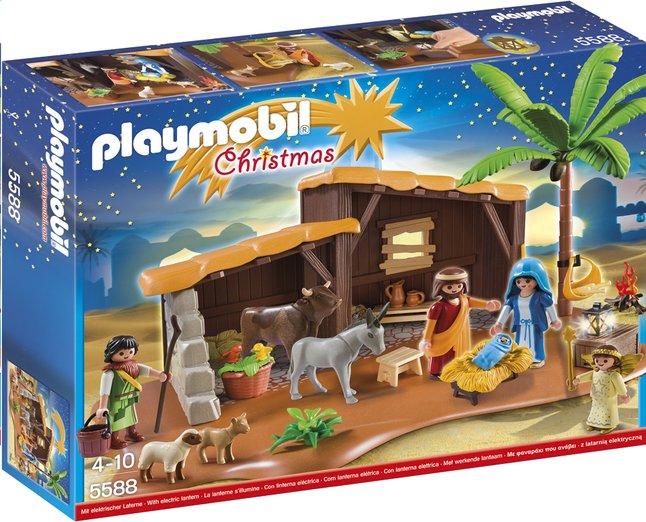 Afbeelding van Playmobil Christmas 5588 Grote kerststal from DreamLand
