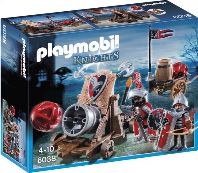 Afbeelding van Playmobil Knights 6038 Groot kanon van de Valkenridders from DreamLand